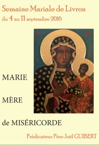 Semaine mariale Livron 2016