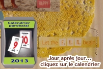Montage calendrier
