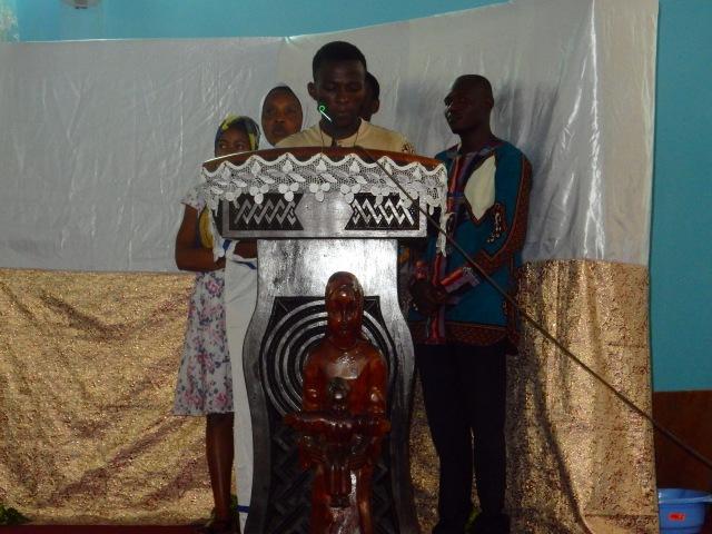 Première lecture en Lingala