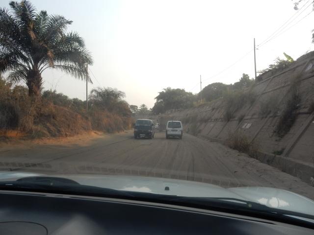 Le By-pass qui va de Kinshasa à Matadi